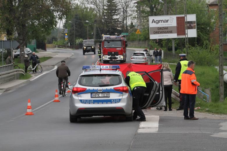 Tragiczny niedzielny wypadek w Stalach