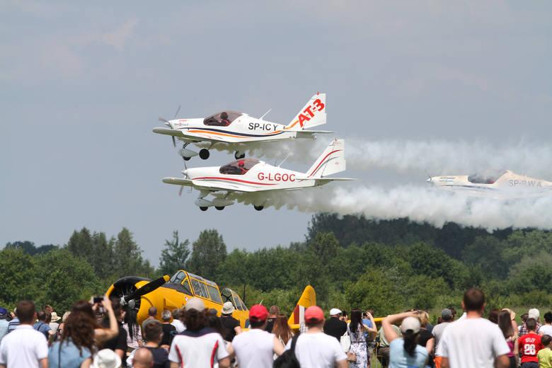 V Podkarpackie Pokazy Lotnicze na lotnisku w Turbi koło Stalowej Woli