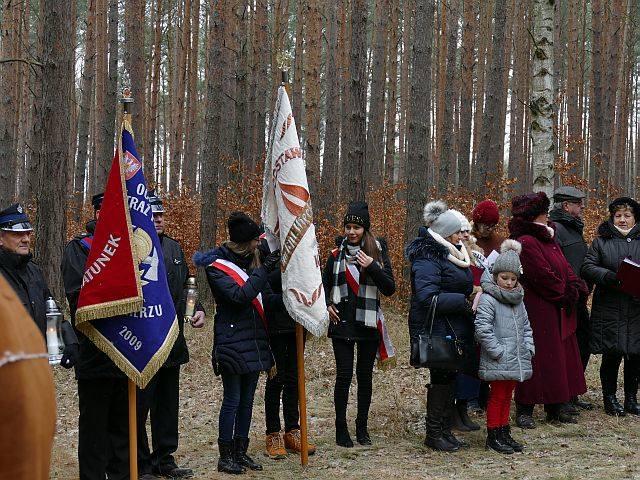 Obchody z okazji 74 rocznicy mordu 41 kobiet w Starym <br /> Jaromierzu.<br /> <br />