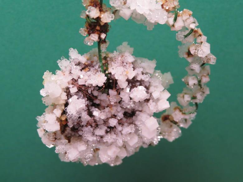 Wieliczka. Domowe hodowle kryształków soli. Efekty są wręcz bajkowe [ZDJĘCIA]