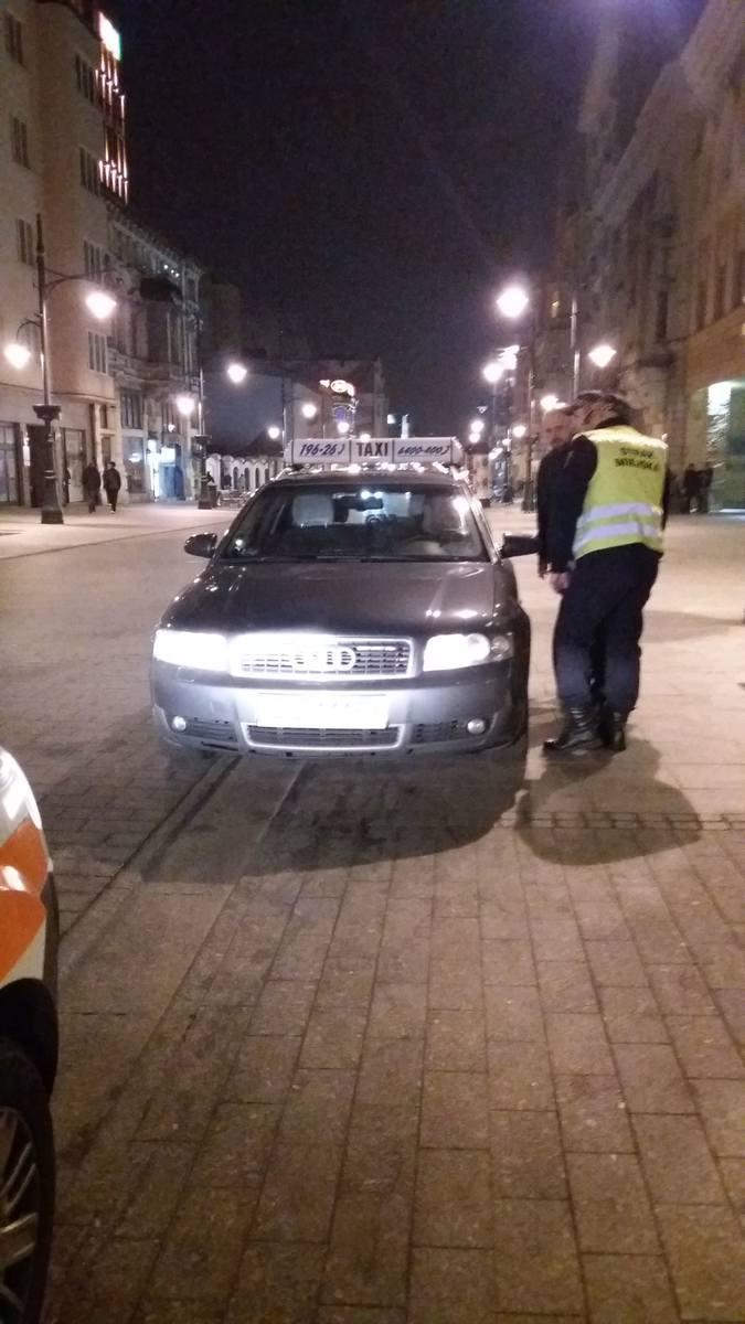 Nocny pościg ulicami Łodzi