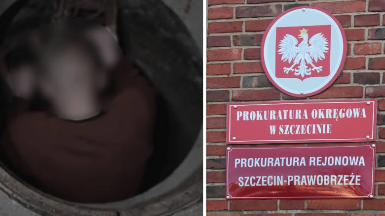 Kadr z filmu na YouTube / Budynek prokuratury w Szczecinie
