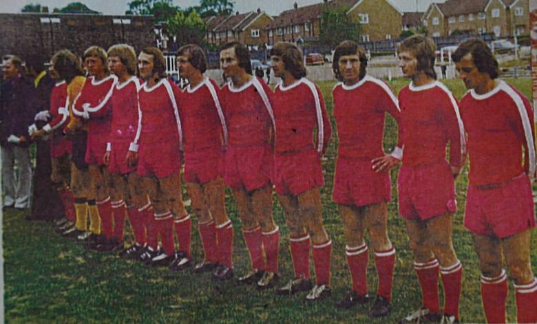 Jerzy Gołębiowski w czasach piłkarskiej kariery.