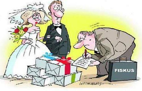 Urząd skarbowy sprawdzi prezenty ślubne