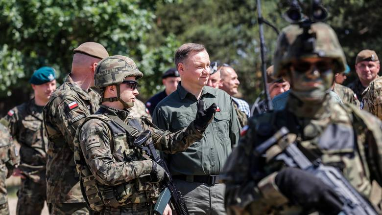 Wybory prezydenckie 2020. Prezydent Andrzej Duda: Jeżeli władze Iraku tego będą chciały, to wycofamy polskich żołnierzy z Iraku