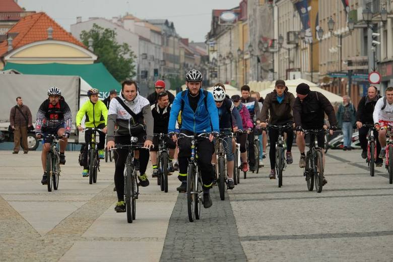Rynek Kościuszki. V Białostocka Wyprawa Rowerowa (zdjęcia, wideo)