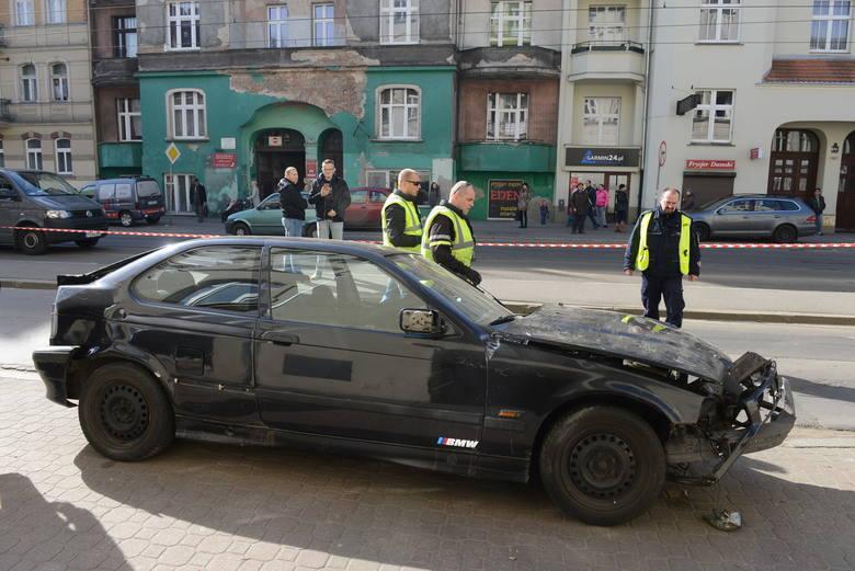 Do wypadku doszło w poniedziałek 23 marca