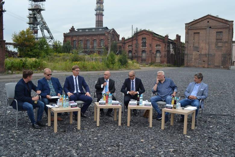 Podczas konferencji prasowej opowiedziano o wydarzeniach, które odbędą się na terenie dawnej KWK Mysłowice w środę 14 sierpnia