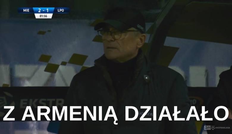 """""""Z Armenią działało"""". Memy o meczu Miedź Legnica - Lech Poznań 3:2 [GALERIA]"""