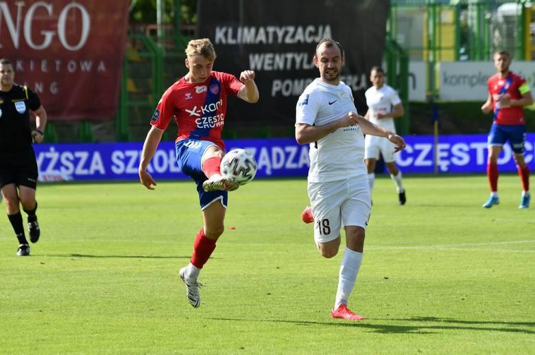 Filip Starzyński w meczu z Rakowem zapisał jedną asystę
