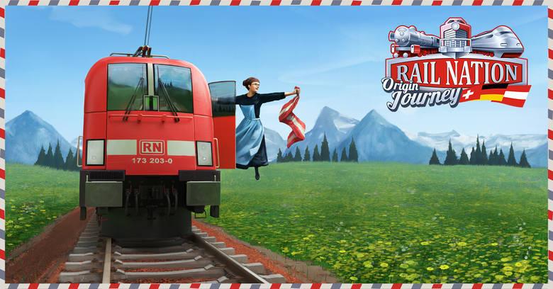 Rail Nation: Odkryj Niemcy, Austrię i Szwajcarię!