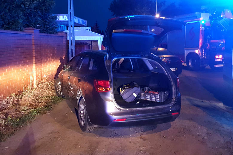 Policyjny pościg w Łodzi. Radiowozy ścigały BMW jadące z ogromną prędkością. Kierowca pod wpływem alkoholu i bez prawa jazdy