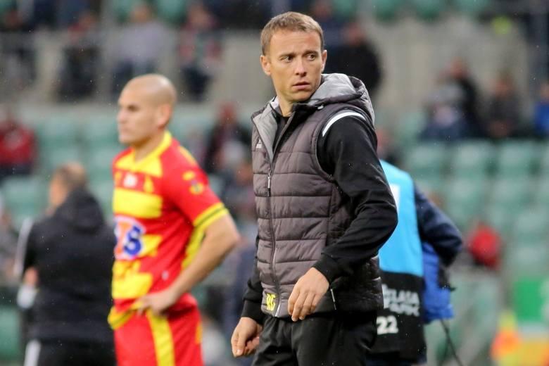 Rafał Grzyb poprowadzi Jagiellonię Białystok w dwóch ostatnich meczach w tym roku
