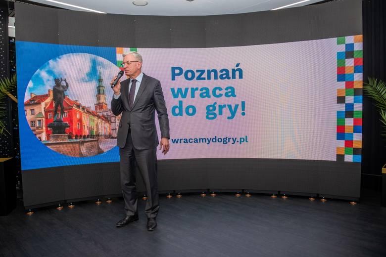 Jacek Jaśkowiak, prezydent Poznania.