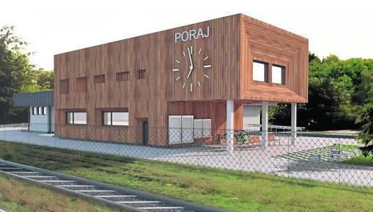 Kompletną metamorfozę przeszedł też dworzec w Poraju.