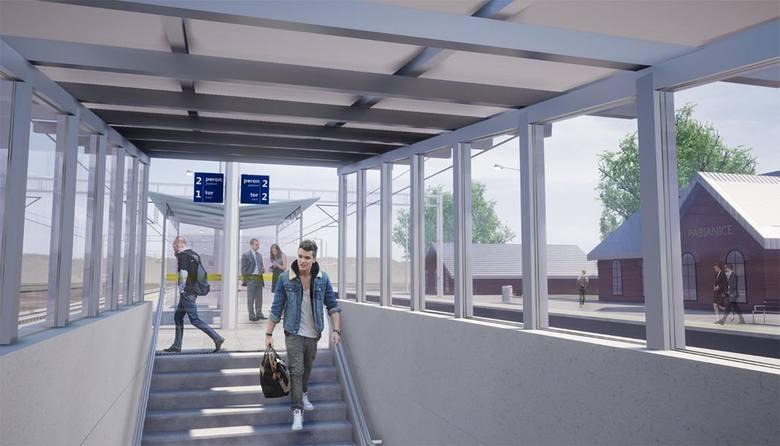 Remont dworca PKP w Pabianicach. Postęp prac, najnowsze informacje ZDJĘCIA