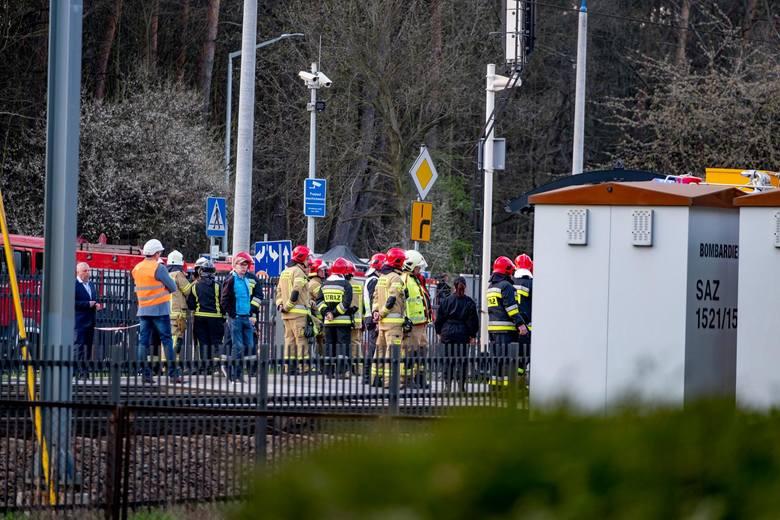 Do wypadku w Puszczykowie doszło 3 kwietnia
