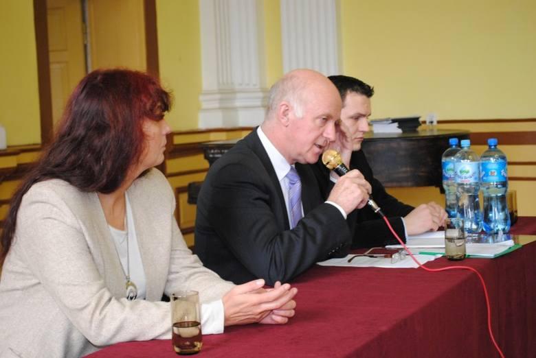 Prezydent Robert Malinowski odpowiadał na wszystkie pytania