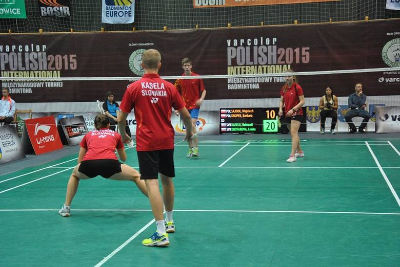 Wielkie otwarcie Międzynarodowego Turnieju Badmintonowego w Bieruniu - Polish International 2015