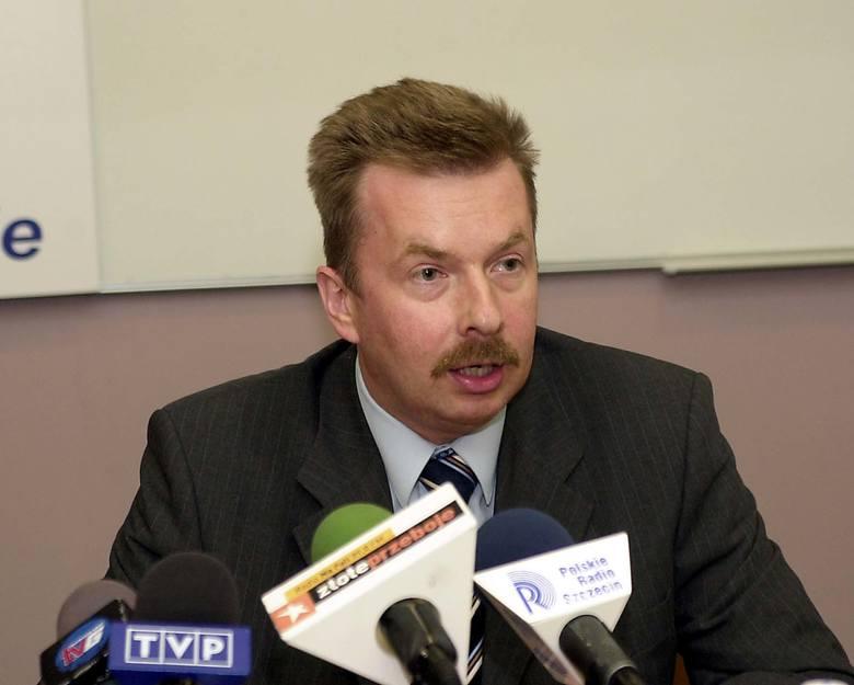 Dariusz Wieczorek, szef zachodniopomorskiego Sojuszu Lewicy Demokratycznej.