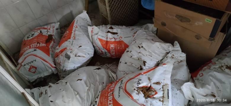 Pół tony tytoniu miał w domu gorliczanin. Śledczy przejęli towar