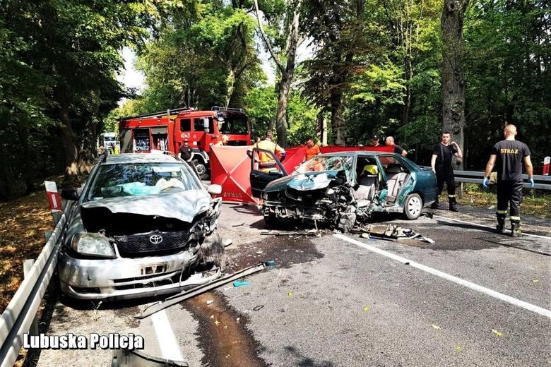 Co było przyczyną śmiertelnego zderzenia dwóch osobówek na drodze krajowej nr 22 niedaleko Strzelec Krajeńskich w którym zginął kierowca seata?Do tego