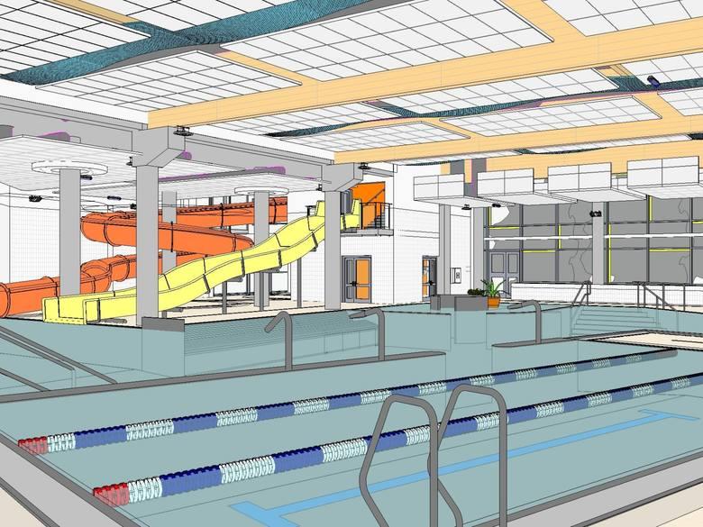 Tak może wyglądać nowy kompleks basenów w Przemyślu. Zobacz wizualizacje