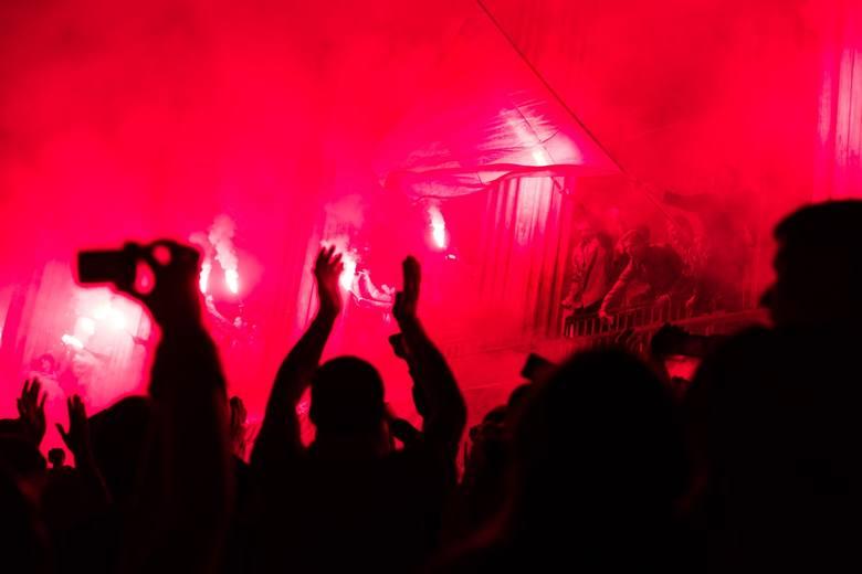 Czerwiec 2015. Wielka feta na placu Uniwersyteckim po zajęciu przez Jagiellonię trzeciego miejsca w ekstraklasie
