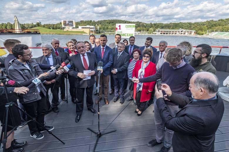 Prezes PSL Władysław Kosiniak-Kamysz we wtorek w Poznaniu spotkał się działaczami partii, przedsiębiorcami oraz rzemieślnikami.  - Nasze spotkanie jest