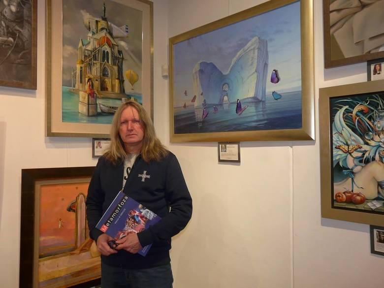 Krzysztof Wiśniewski wystawił swój obraz na wystawie poświęconej pamięci Zdzisława Beksińskiego.  4 bm. w Galerii Staromiejskiej w Gdańsku było otwarcie