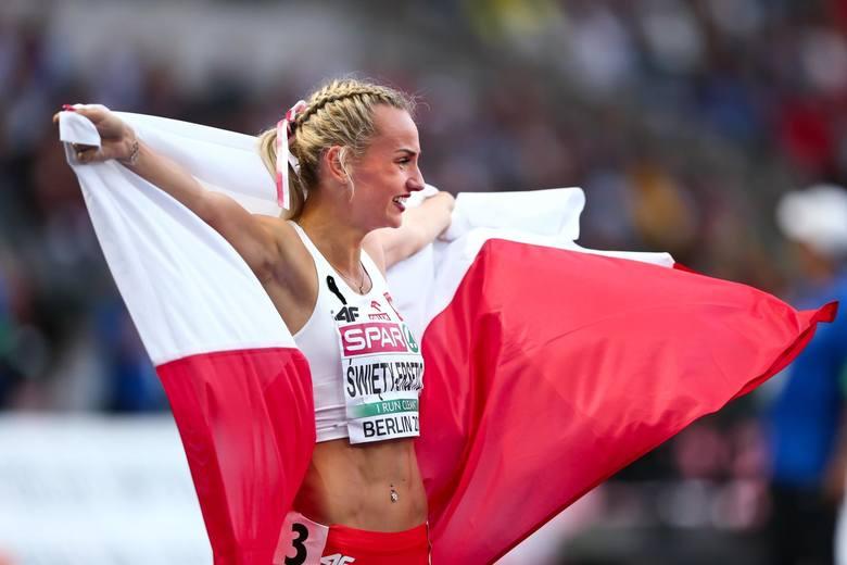 Justyna Święty-Ersetic przywiozła z Berlina dwa złote medale.
