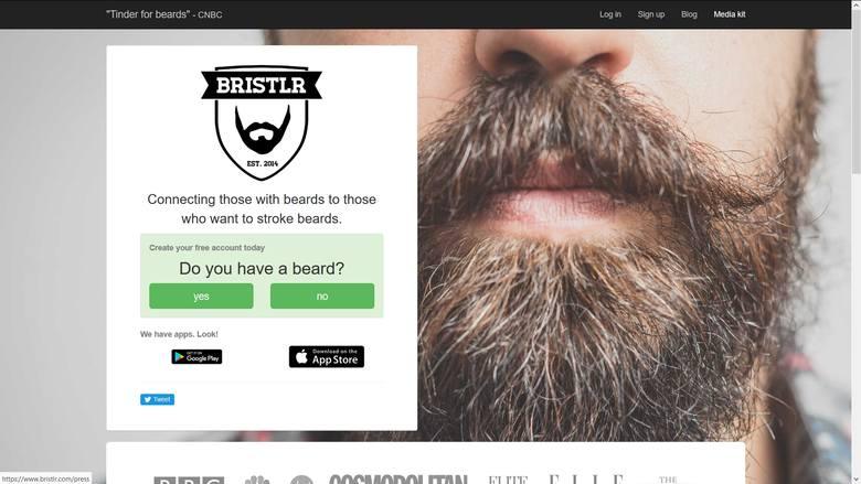 Lubisz głaskać gęste brody? A może sam/a posiadasz brodę? Bristlr to aplikacja łącząca ze sobą miłośników zarostu.