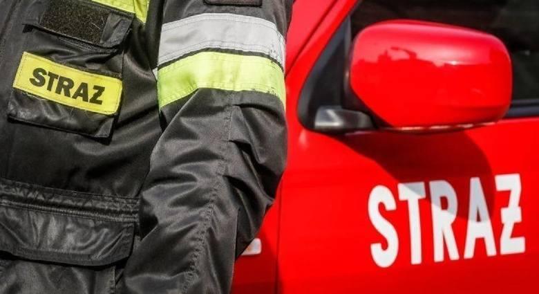 Tragiczny pożar w Kwidzynie! Nie żyje 75-letnia kobieta. Mimo reanimacji zmarła