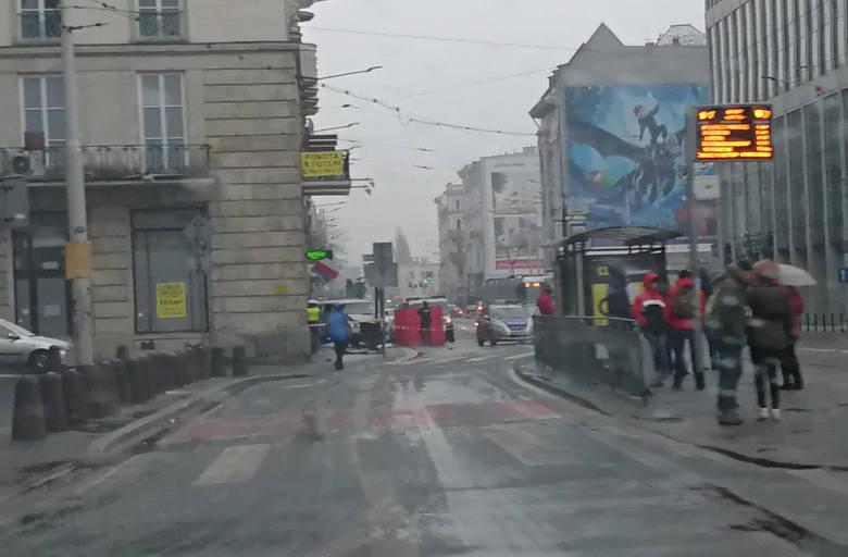 Wypadek w centrum Wrocławia. Nie żyje kierowca