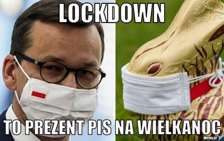 Lockdown w Polsce stał się faktem, internauci oswajają go memami. Zobacz najlepsze na kolejnych slajdach galerii