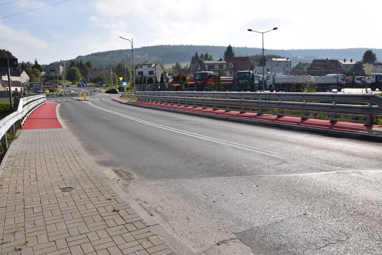Wyremontowany most na ulicy Suchedniowskiej