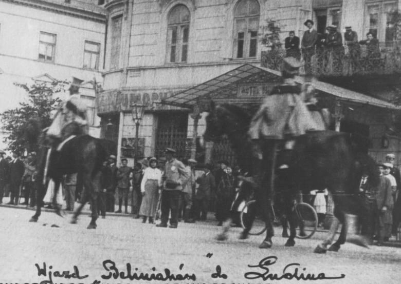 Beliniacy wjeżdżają do Lublina, 30 lipca 1915 r.