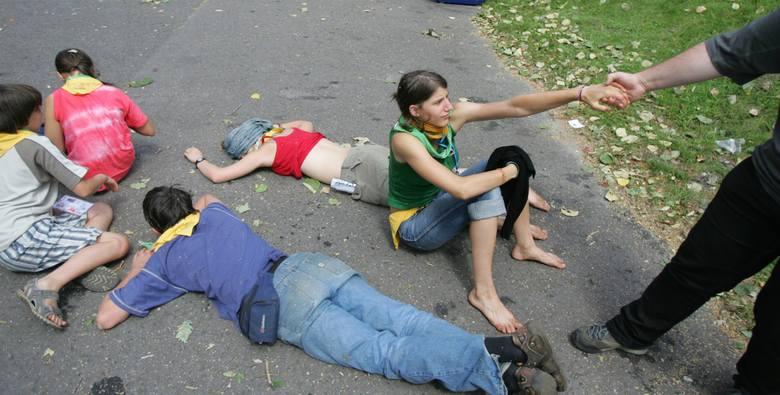 W 2008 roku odbył się zlot skautów w Parku Śląskim. Zobacz zdjęcia