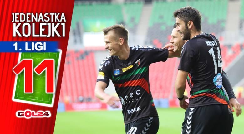Beniaminek z Radomia na czele. Jedenastka 9. kolejki Fortuna 1 Ligi GOL24.pl!