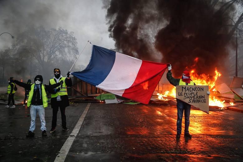 Protesty we Francji nie słabną