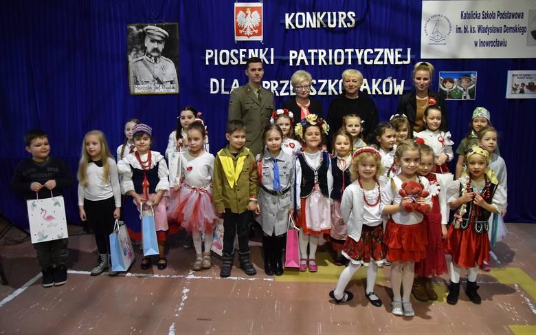 Katolicka Szkoła Podstawowa w Inowrocławiu już po raz czwarty zorganizowała Konkurs Piosenki Patriotycznej dla Przedszkolaków. Uczestniczyli w nim: Olga