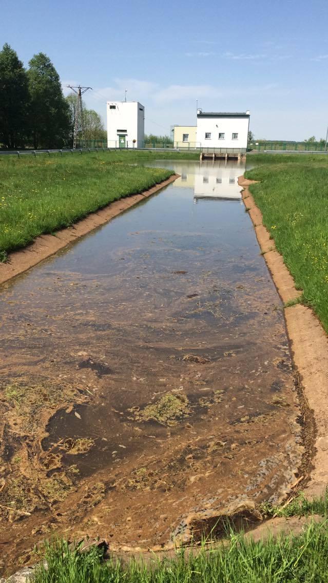 Niepokojącą substancję w przepompowni wody w Siemieniakowszczyźnie w pobliżu Zalewu Siemianówka zauważył nasz Czytelnik: Zapach jest przykry, a wygląda