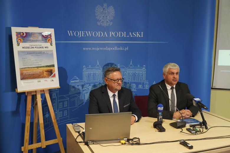 Burmistrz Kolna Andrzej Duda i wojewoda podlaski Bohdan Paszkowski zapowiedzieli II Ogólnopolskie Święto Wdzięczni Polskiej Wsi. Odbędzie się już w niedzielę.