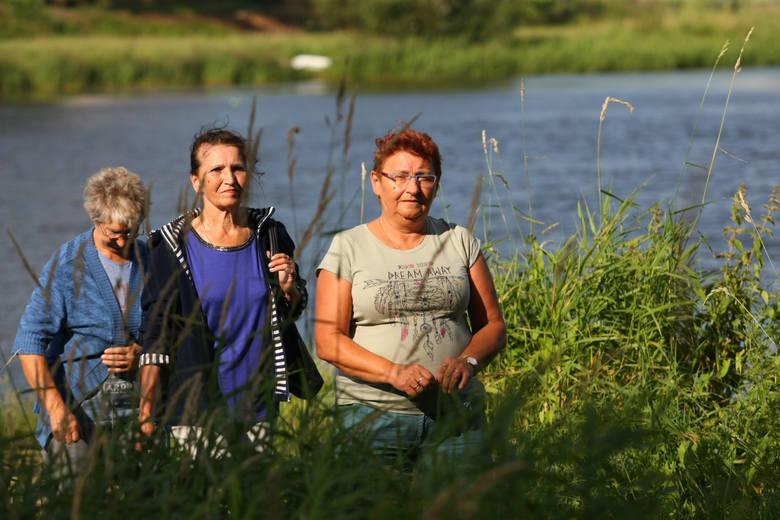 Kotowiczanki Maria Rzymiańska, Krystyna Wosik i Małgorzata Mokrowska