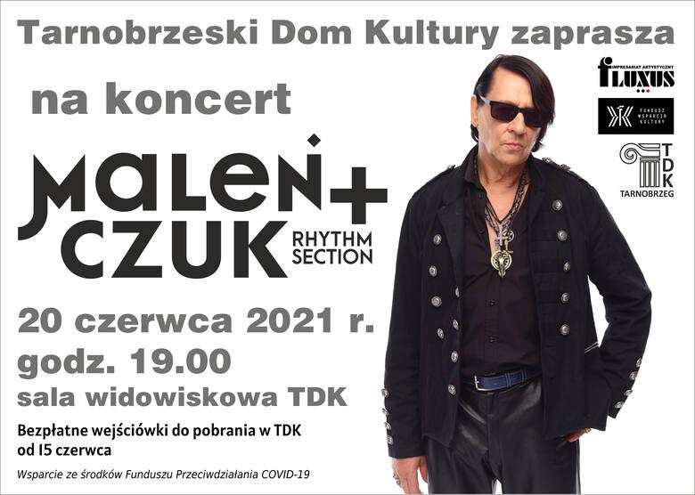 Maciej Maleńczuk + Rhythm Section 20 czerwca w Tarnobrzeskim Domu Kultury. Odbierz wejściówki