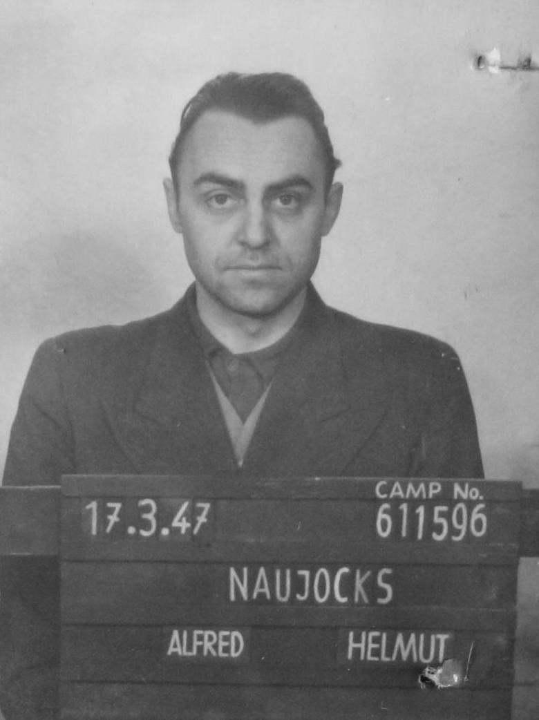 Alfred Naujocks w niewoli (1947 r.)