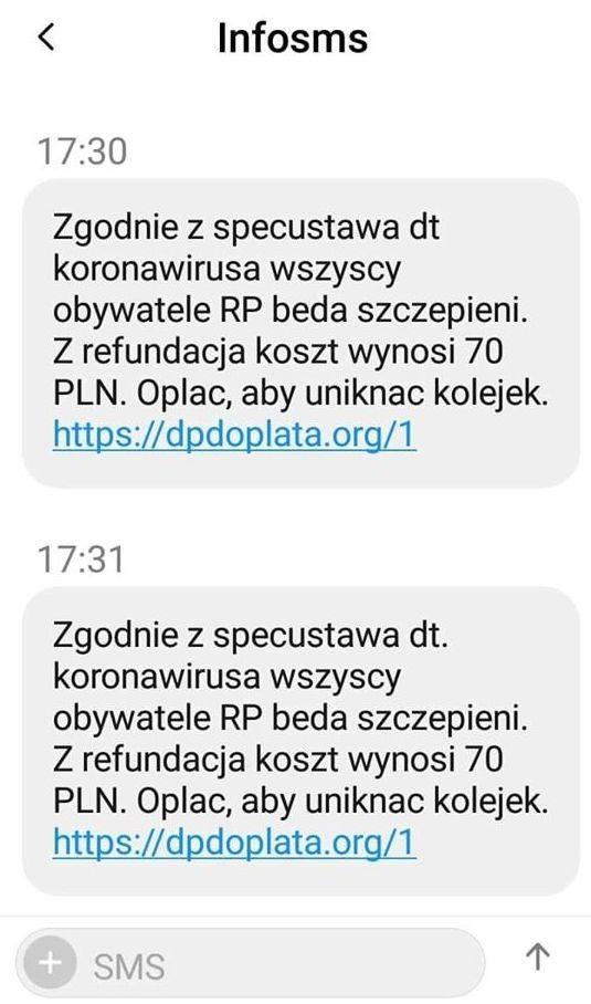 Te SMS-y o koronawirusie to oszustwo! Nieuczciwi chcą zarobić! Wiele SMS to fake newsy