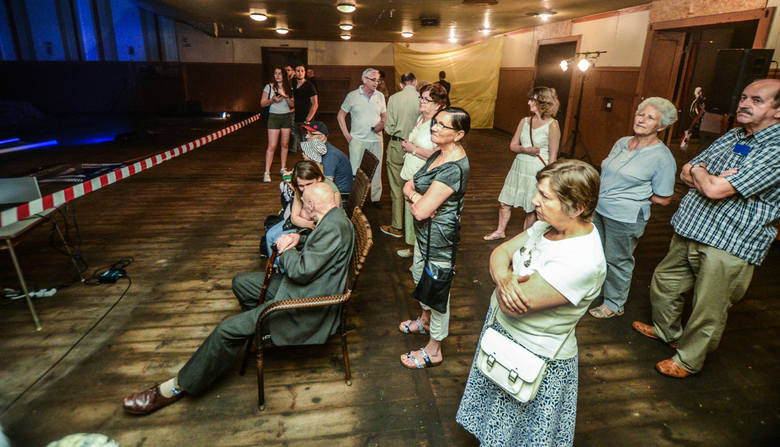 Pomorzanin w sobotnie popołudnie zapełnił się gośćmi. Tylu osób jednocześnie już dawno tam nie było.