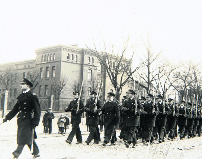 Międzywojenny Toruń był kuźnią kadr dla Marynarki Wojennej. Zdjęcie ze zbiorów Muzeum Okręgowego w Toruniu