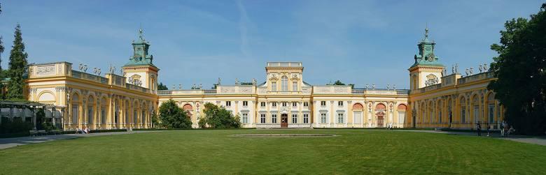 Na rewersie banknotu znajduje się Pałac w Wilanowie.